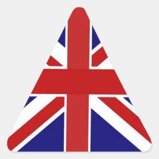 Sticker Triangulaire Union Jack
