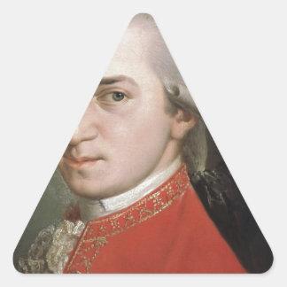 Sticker Triangulaire Wolfgang Amadeus Mozart