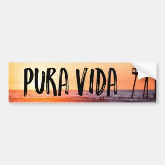 Sticker van de Bumper van het Strand van de