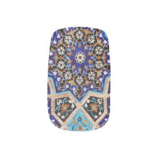Stickers Pour Ongles Art persan de clou de ciel