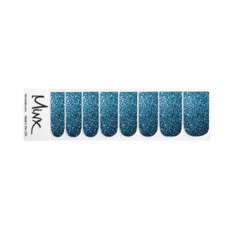 Stickers Pour Ongles Belles étincelles de scintillement de bleus
