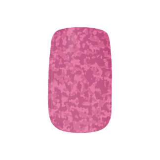 Stickers Pour Ongles Camo rose