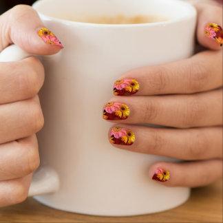 Stickers Pour Ongles Clous de flower power