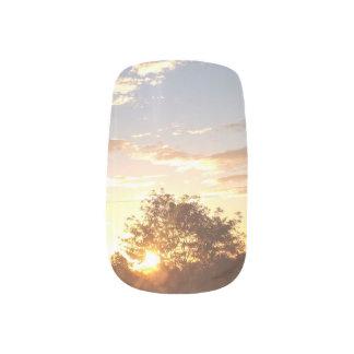 Stickers Pour Ongles clous de lever de soleil