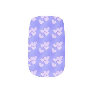 Stickers Pour Ongles Coeurs de lavande