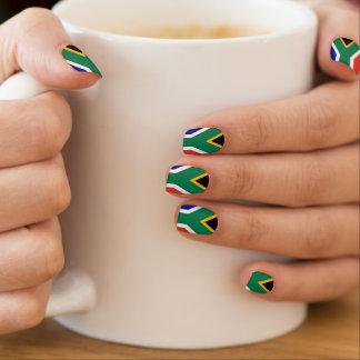 Stickers Pour Ongles Drapeau de l'Afrique du Sud Bokke