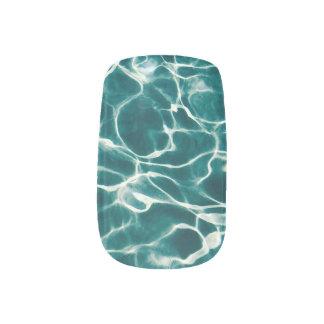 Stickers Pour Ongles Motif de l'eau de piscine