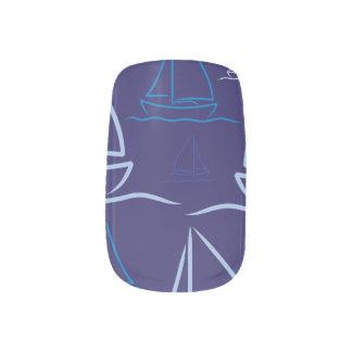 Stickers Pour Ongles Motif de yacht