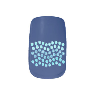 Stickers Pour Ongles Vagues bleues