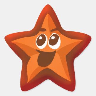 Stickers van de Ster van Thinkling de Oranje