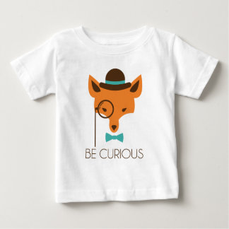 Stiekeme Vos Baby T Shirts