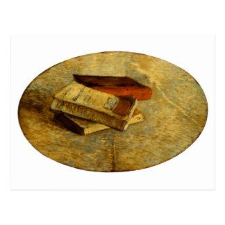 Stilleven met Drie Boeken, Vincent van Gogh Wens Kaart