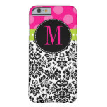 Stip & Damast | Monogram Barely There iPhone 6 Hoesje