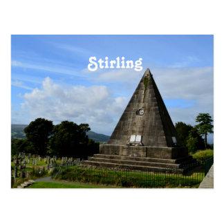 Stirling Ecosse Carte Postale