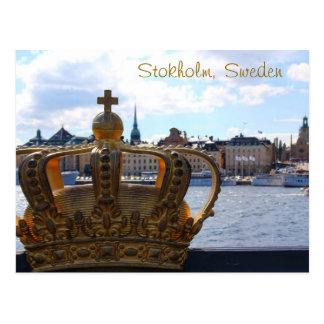 Stockholm, Suède Carte Postale