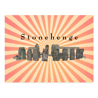 Stonehenge : Carte postale