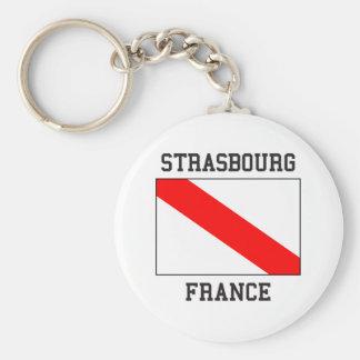Straatsburg Frankrijk Sleutelhanger