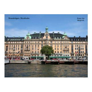 Strandvägen, Stockholm Carte Postale