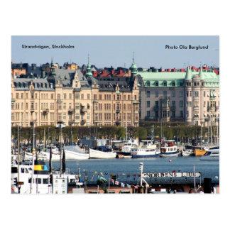Strandvägen, Stockholm, photo Ol… Carte Postale