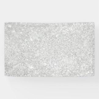 Style argenté de diamant banderoles