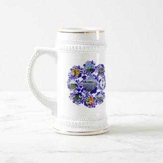 Style bleu Hollande Stein du cru Delftware/Delft Chope À Bière