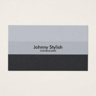 Style coloré par deux chics simples d'élégance cartes de visite
