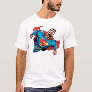 Style comique de Superman T-shirt