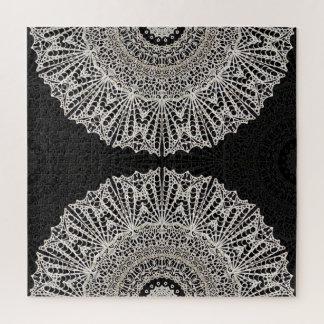 Style G384 de Mehndi de mandala de puzzle