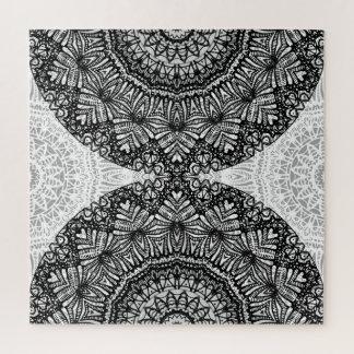Style G444 de Mehndi de mandala de puzzle