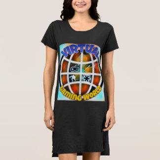 Style : Robe alternative de T-shirt de
