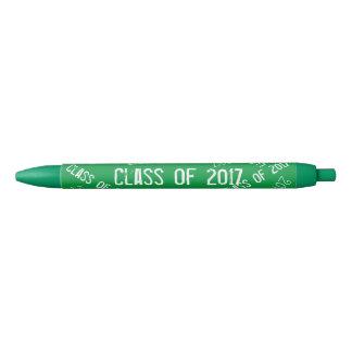 Stylo Noir Classe du blanc 2017 vert