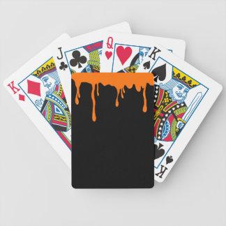 Substance gluante orange jeux de cartes