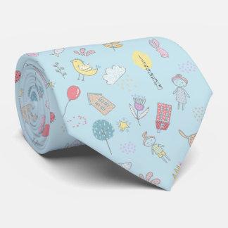 Substance mignonne tirée par la main ID360 Cravate