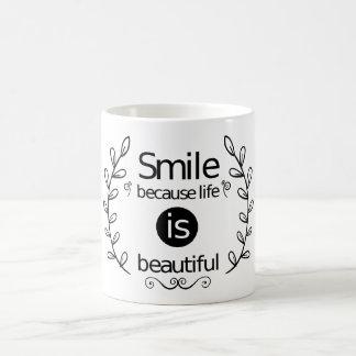 Succès, citation de motivation de la vie mug