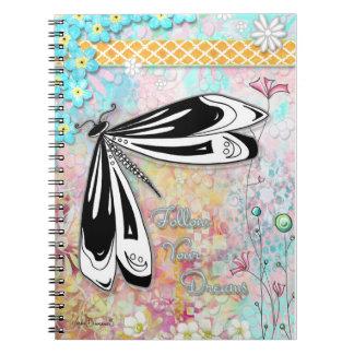 Suivez votre carnet de libellule de rêves