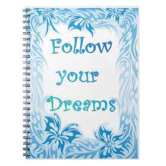 Suivez votre carnet de rêves