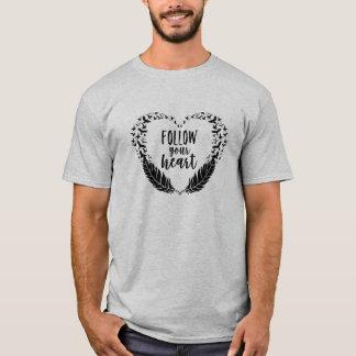 Suivez votre coeur t-shirt
