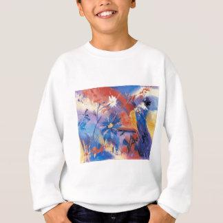 Suivez votre sweatshirt d'enfants de coeur