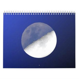 Sun et lune calendrier mural