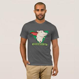 Super héros, pas T-shirt de végétalien de