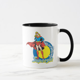Supergirl avec le logo mug