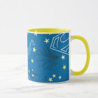 Supergirl protègent le motif de nature mug