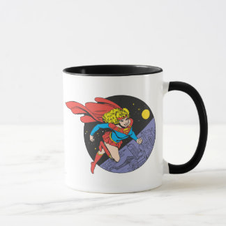 Supergirl saute dans l'espace mug