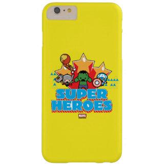 Superhéros de vengeur de Kawaii graphiques Coque Barely There iPhone 6 Plus