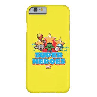 Superhéros de vengeur de Kawaii graphiques Coque iPhone 6 Barely There