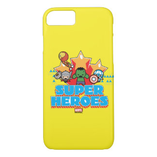 Superhéros de vengeur de Kawaii graphiques Coque iPhone 7