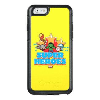 Superhéros de vengeur de Kawaii graphiques Coque OtterBox iPhone 6/6s