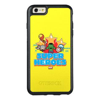 Superhéros de vengeur de Kawaii graphiques Coque OtterBox iPhone 6 Et 6s Plus