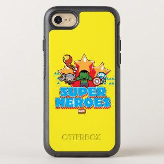 Superhéros de vengeur de Kawaii graphiques Coque OtterBox Symmetry iPhone 8/7