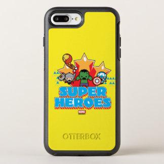 Superhéros de vengeur de Kawaii graphiques Coque Otterbox Symmetry Pour iPhone 7 Plus